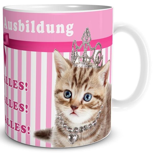 Katzenprinzessin in Ausbildung, Tasse 300 ml