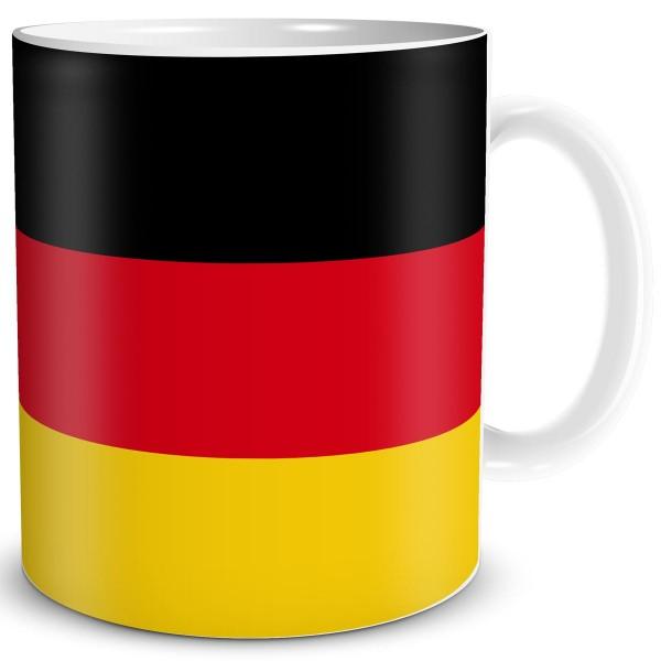 Flagge Deutschland, Tasse 300 ml