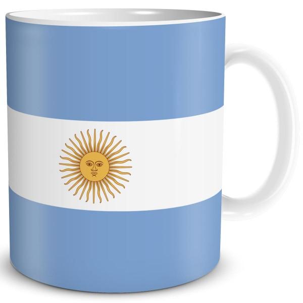 Flagge Argentinien, Tasse 300 ml