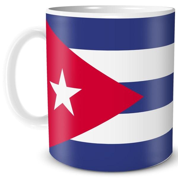 Flagge Kuba, Tasse 300 ml