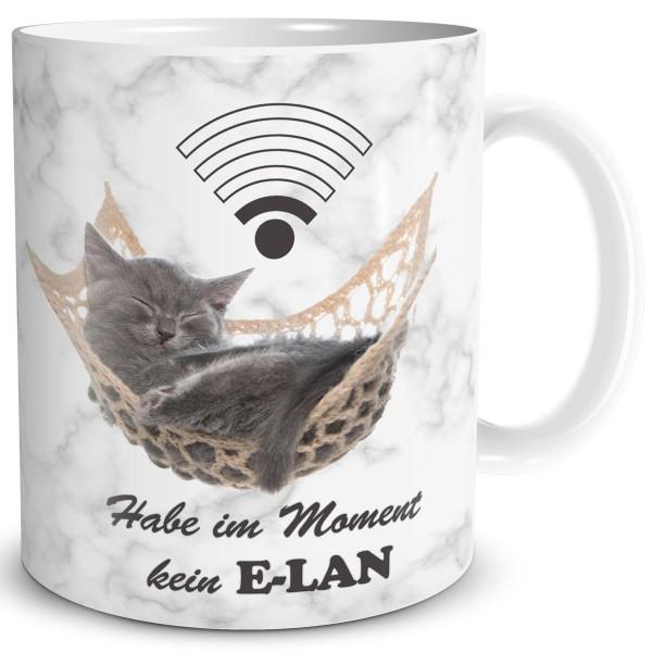Katze Kein Elan, Tasse 300 ml