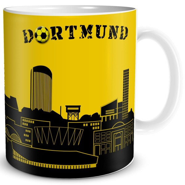 Stadt Skyline Dortmund, Tasse 300 ml