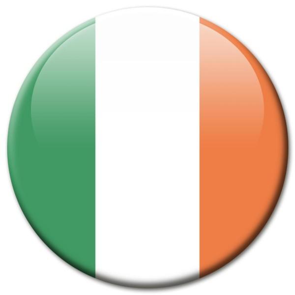 Flagge Irland, Magnet 5 cm