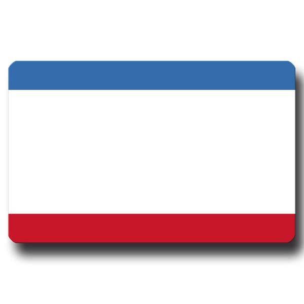 Flagge Krim, Magnet 8,5x5,5 cm