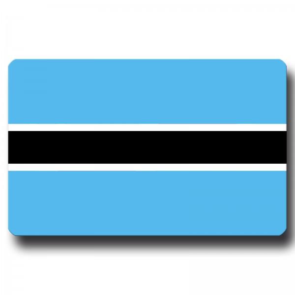 Flagge Botswana, Magnet 8,5x5,5 cm