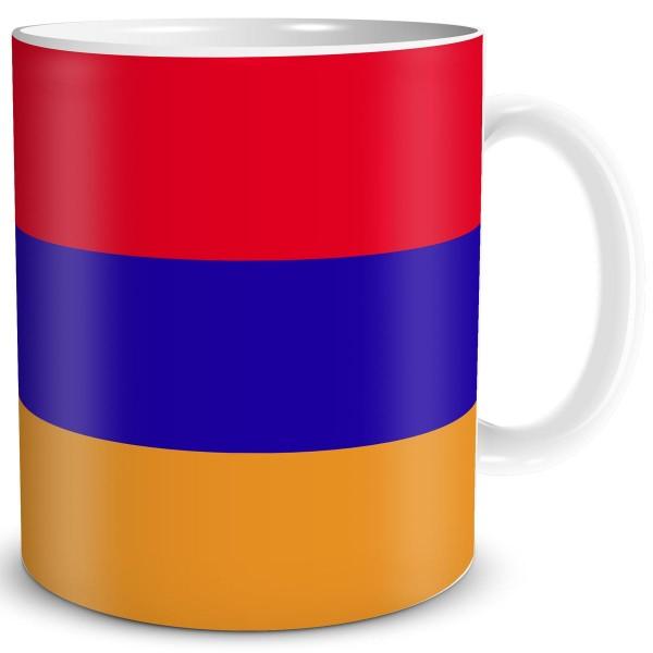 Flagge Armenien, Tasse 300 ml