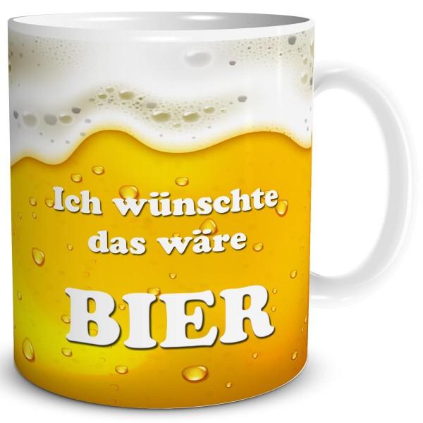 Ich wünschte das wäre Bier, Tasse 300 ml