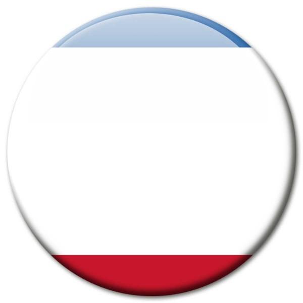 Flagge Krim, Magnet 5 cm