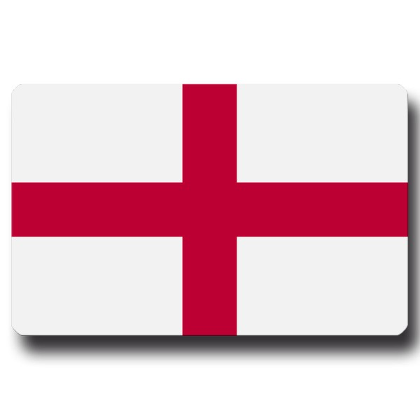 Flagge England, Magnet 8,5x5,5 cm