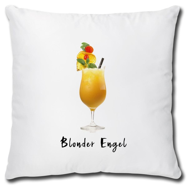 Cocktail Blonder Engel, Kissen 40x40 cm