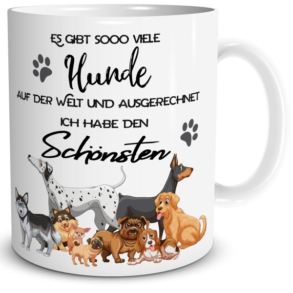 Es gibt so viele Hunde, Tasse 300 ml