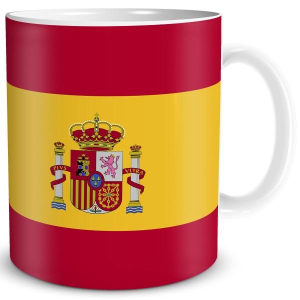 Flagge Spanien, Tasse 300 ml