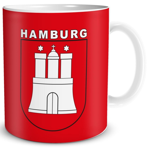 Wappen Hamburg, Tasse 300 ml