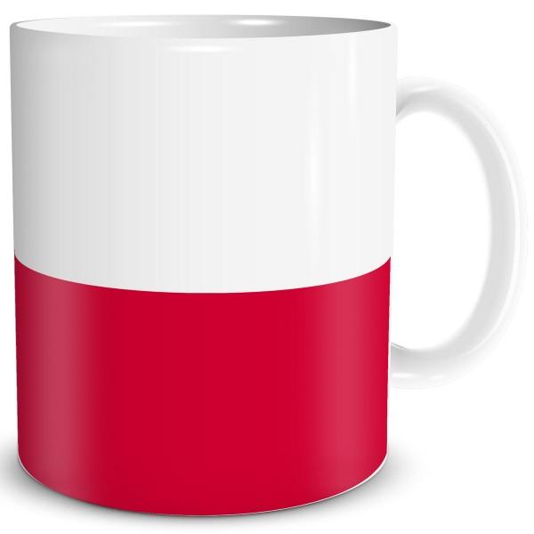 Flagge Polen, Tasse 300 ml