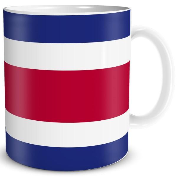Flagge Costa Rica, Tasse 300 ml