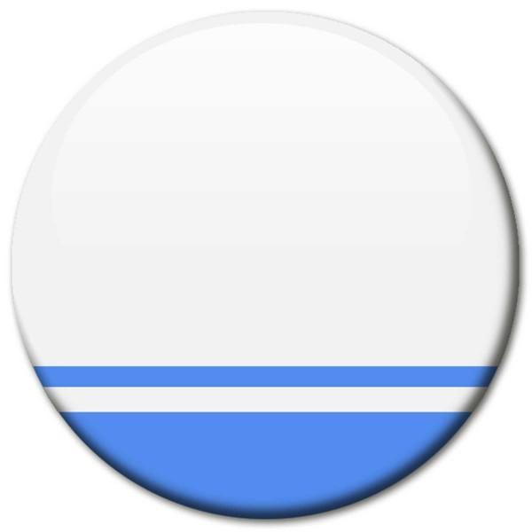 Flagge Altai Republik, Magnet 5 cm