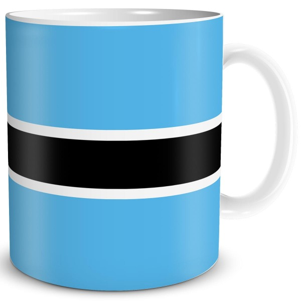 Flagge Botswana, Tasse 300 ml