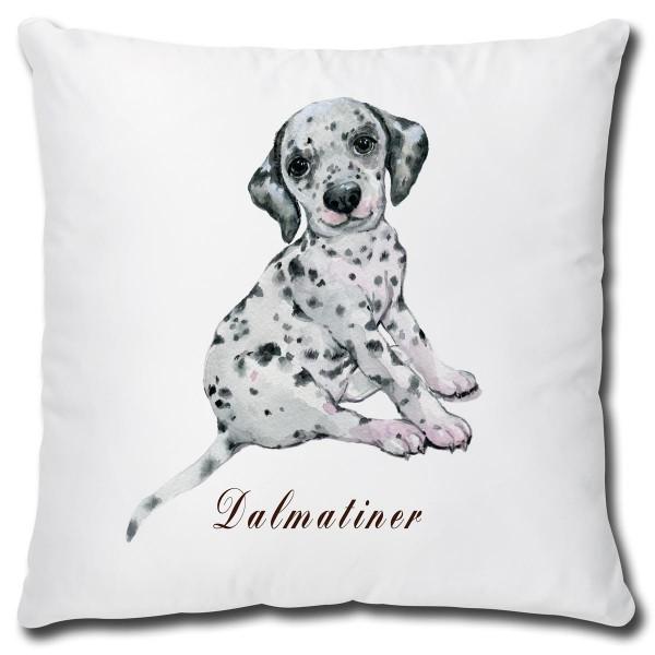 Dalmatiner Hund, Kissen 40x40 cm