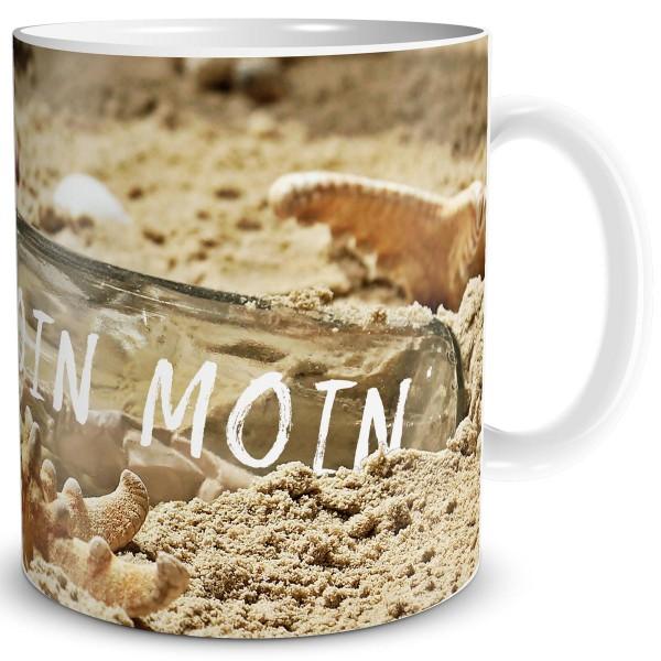 Flaschenpost Moin Moin, Tasse 300 ml
