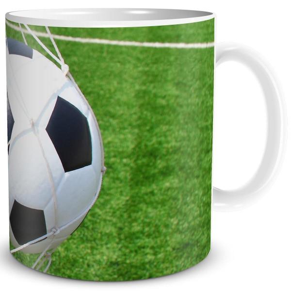Fußball im Tor, Tasse 300 ml