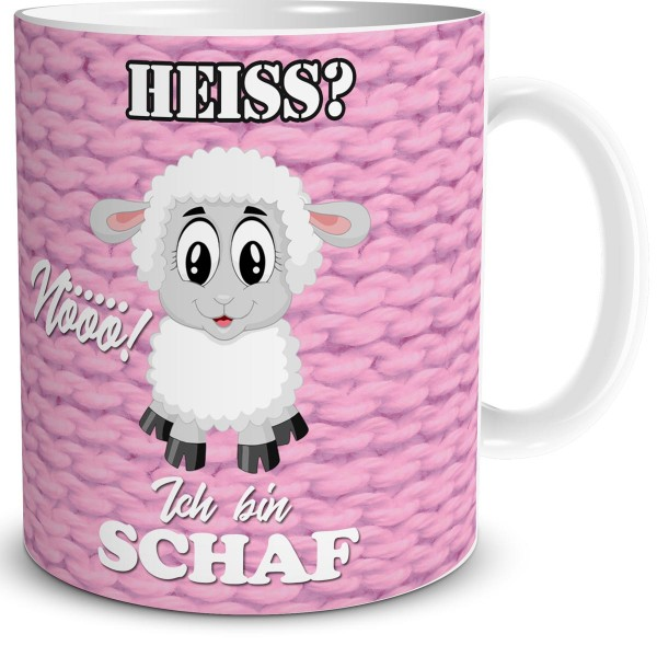 Schaf Heiß, Tasse 300 ml