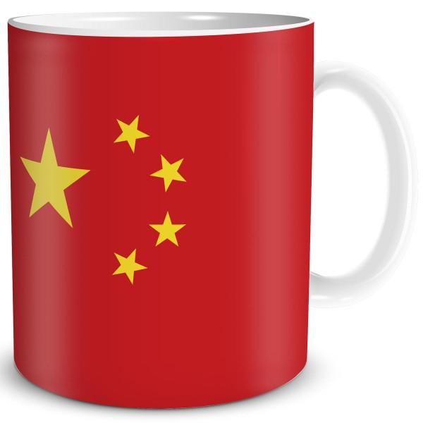 Flagge China, Tasse 300 ml