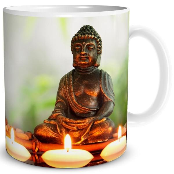 Buddha Problemlösung, Tasse 300 ml