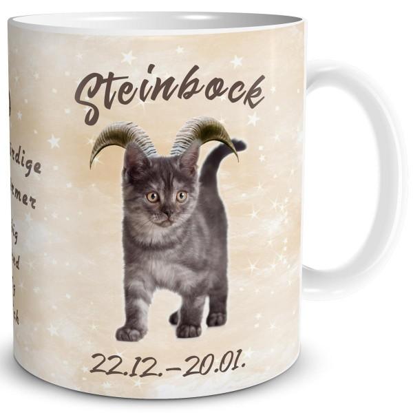 Sternzeichen Steinbock Katze, Tasse 300 ml