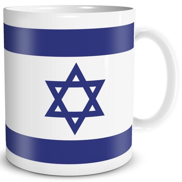 Flagge Israel, Tasse 300 ml